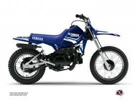 Yamaha PW 80 Dirt Bike CONCEPT Graphic kit Blue