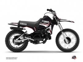Yamaha PW 80 Dirt Bike CONCEPT Graphic kit Red