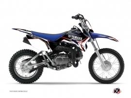 Graphic Kit Dirt Bike Concept Yamaha TTR 90 Red