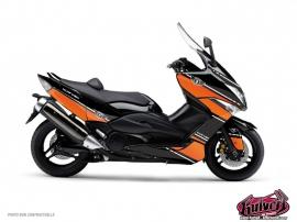 Graphic Kit Maxiscoot Cooper Yamaha TMAX 500 Orange