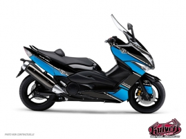 Graphic Kit Maxiscooter Cooper Yamaha TMAX 530 Blue