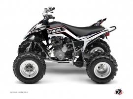 Graphic Kit ATV Corporate Yamaha 250 Raptor Black