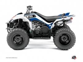Yamaha 350-450 Wolverine ATV CORPORATE Graphic kit Blue