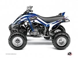 Graphic Kit ATV Corporate Yamaha 350 Raptor Blue