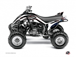 Graphic Kit ATV Corporate Yamaha 350 Raptor Black