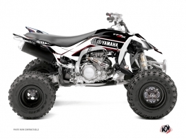 Graphic Kit ATV Corporate Yamaha 450 YFZ R Black