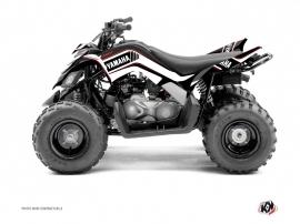 Graphic Kit ATV Corporate Yamaha 90 Raptor Black
