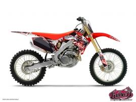 Honda 125 CR Dirt Bike DEMON Graphic kit