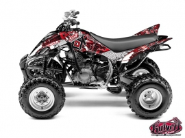 Graphic Kit ATV Demon Yamaha 350 Raptor Red