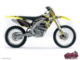 Suzuki 450 RMZ Dirt Bike DEMON Graphic kit