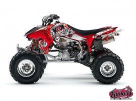 Graphic Kit ATV Demon Honda 450 TRX