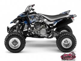 Yamaha 450 YFZ ATV DEMON Graphic kit Blue