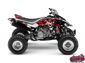 Yamaha 450 YFZ ATV DEMON Graphic kit Red