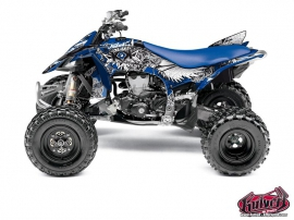 Graphic Kit ATV Demon Yamaha 450 YFZ R Blue