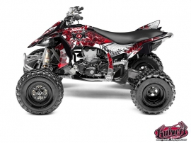 Graphic Kit ATV Demon Yamaha 450 YFZ R Red