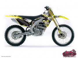 Suzuki 85 RM Dirt Bike DEMON Graphic kit