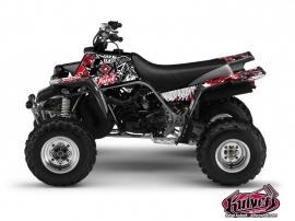 Graphic Kit ATV Demon Yamaha Banshee Red