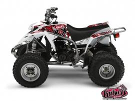 Yamaha Blaster ATV DEMON Graphic kit Red