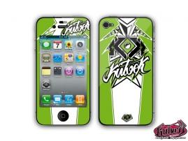 Graphic Kit iPhone 3GS Demon Vert