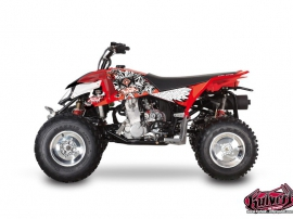 Polaris Outlaw 450 ATV DEMON Graphic kit