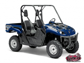 Graphic Kit UTV Demon Yamaha Rhino Blue