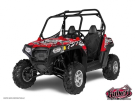 Graphic Kit UTV Demon Polaris RZR 800 S
