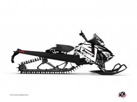 Graphic Kit Snowmobile Digikamo Skidoo REV-XM White