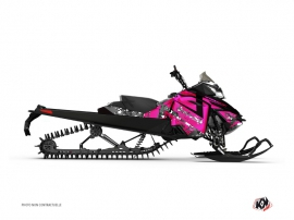 Graphic Kit Snowmobile Digikamo Skidoo REV-XM Pink