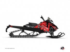 Graphic Kit Snowmobile Digikamo Skidoo REV-XM Red