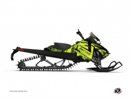 Graphic Kit Snowmobile Digikamo Skidoo REV-XM Green