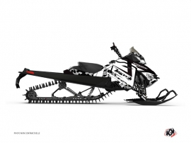 Graphic Kit Snowmobile Digikamo Skidoo REV-XP White