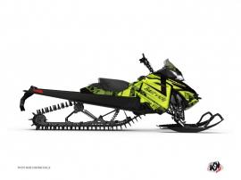 Graphic Kit Snowmobile Digikamo Skidoo REV-XP Green
