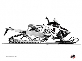 Polaris RMK Snowmobile DIGIKAMO Graphic kit White