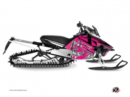 Yamaha SR Viper Snowmobile Digikamo Graphic Kit Pink