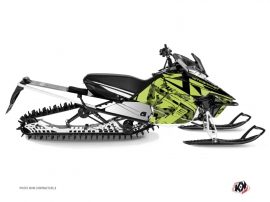 Yamaha SR Viper Snowmobile Digikamo Graphic Kit Green