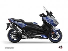 Graphic Kit Maxiscooter Energy Yamaha TMAX 530 Grey Blue