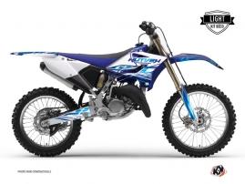 Yamaha 125 YZ Dirt Bike ERASER Graphic kit Blue LIGHT