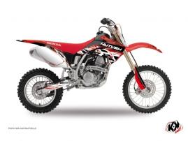 Graphic Kit Dirt Bike Eraser Honda 125 CR Red White