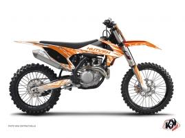 Graphic Kit Dirt Bike Eraser KTM 125 SX Orange