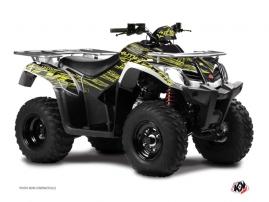 Kymco 250-300 MXU ATV Eraser Graphic Kit Neon Grey