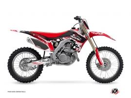 Honda 250 CRF Dirt Bike ERASER Graphic kit Red White