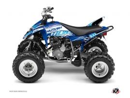 Yamaha 250 Raptor ATV ERASER Graphic kit Blue