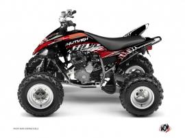 Yamaha 250 Raptor ATV ERASER Graphic kit Red White