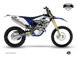 Sherco 250 SE R Dirt Bike ERASER Graphic kit White Yellow LIGHT