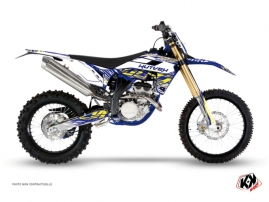 Sherco 250 SEF R Dirt Bike ERASER Graphic kit White Yellow