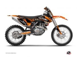 KTM 250 SX Dirt Bike ERASER Graphic kit Orange Black
