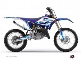 Graphic Kit Dirt Bike Eraser Yamaha 250 YZ Blue