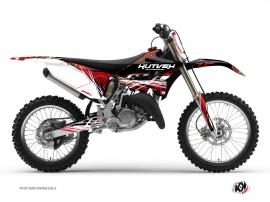 Graphic Kit Dirt Bike Eraser Yamaha 250 YZ Red White