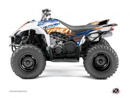 Yamaha 350-450 Wolverine ATV ERASER Graphic kit Blue Orange