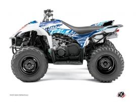 Yamaha 350-450 Wolverine ATV ERASER Graphic kit Blue
